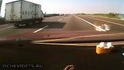 کل کل با کامیون و تصادف مرگبار!