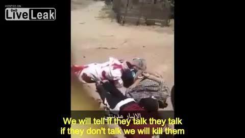 اعدام چند تروریست داعشی در الانبار عراق