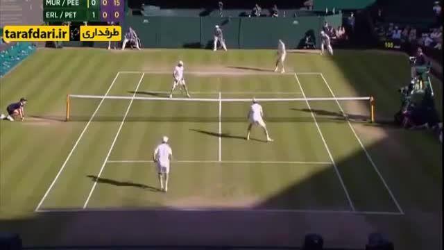 اتفاق جالب برای دیوید بکهام در مسابقات تنیس ویمبلدون