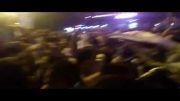 جشن صعود تیم ملی به جام جهانی در قم - فلکه میثم