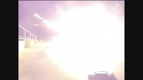 تصاویر متحیر کننده از یک سقوط فضایی