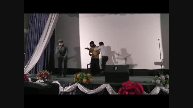 تئاتر و خوانندگی و اجرای زیبا از گروه تئاتر خنگولستان