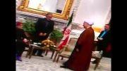هاشمی رفسنجانی و رئیس پارلمان اروپا