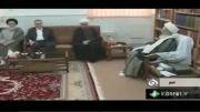 دیدار دکتر روحانی با مراجع تقلید در قم