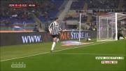 آ اس رم 1 : 0 یوونتوس - مرحله 1/4 نهایی کوپا ایتالیا
