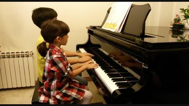 گل گندم-دونوازی سروش و روژان خرازی-آوای پیانو
