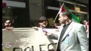 تظاهرات ضد صهیونیستی در نقاط مختلف جهان