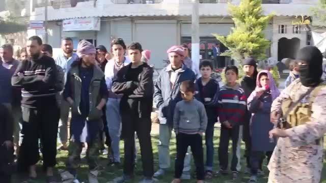 داعش جاسوس پ.ک.ک را اعدام کرد