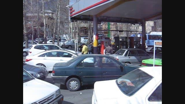 فضای فروش داینوتب در پمپ بنزین
