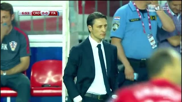 کرواسی 1 : 1 ایتالیا - مقدماتی یورو 2016