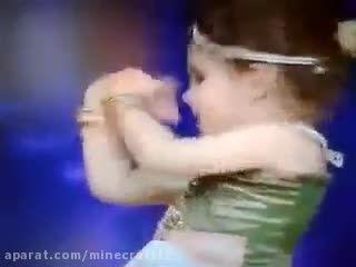 رقص زیبا دخترک 2 ساله هندی