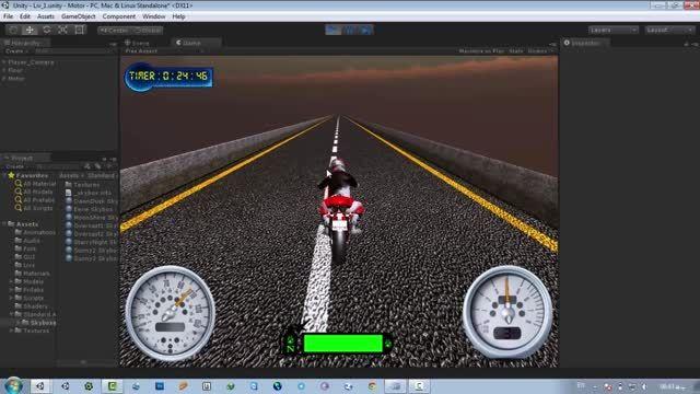 بازی موتور سواری