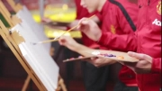 چالش جالب بازیکنان منچستریونایتد؛ نقاشی روی بوم