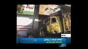 تصادف مرگبار کامیون در رودهن