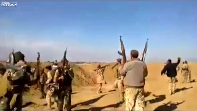 حمله انتحاری داعش به مجاهدان عراقی