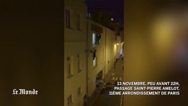 لحظه حمله تروریستی داعش به باتکلان پاریس