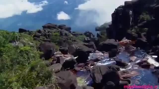 آبشار آنجل بلندترین آبشار جهان