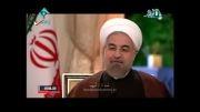 گفت وگوی زنده تلویزیونی حسن روحانی