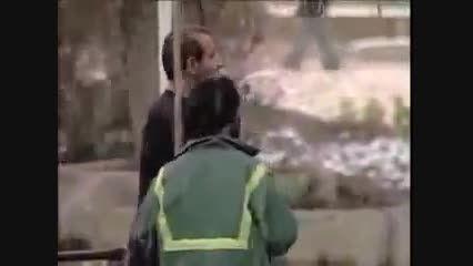 دوربین مخفی - شکست عشقی و خودکشی اخر خنده :))