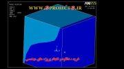تولید حرارت  داخلی و انتقال حرارت در نرم افزار انسیس