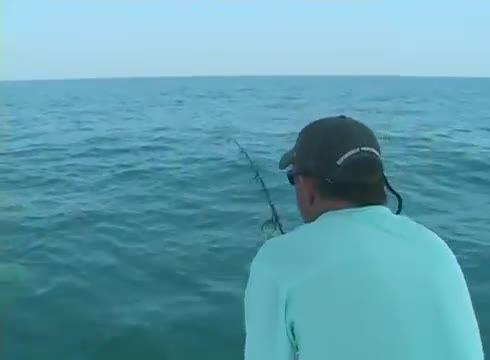 پریدن عجیب ماهی به داخل قایق ماهیگیری و وحشت ماهیگیران