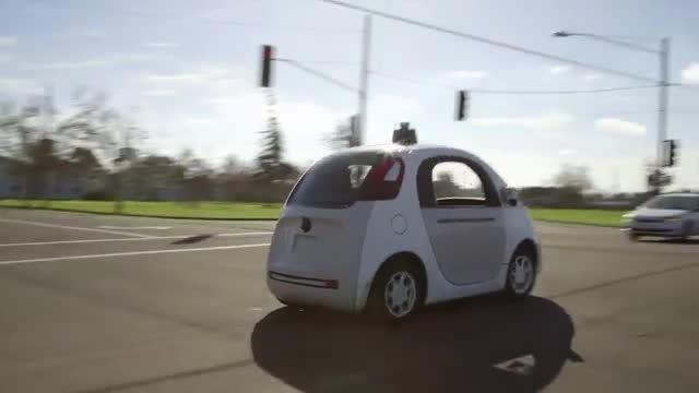 خودرو بدون راننده گوگل وارد خیابان های شده  است
