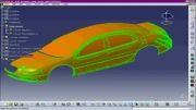ساخت و ساز خودکار بدن را از ابر نقاط و سطح کتیا/catia