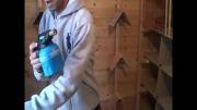 ویروس زدایی و تمیز کردن کبوتر خانه