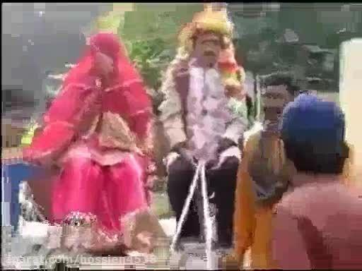 واکنش جالب داماد با دیدن عروس قلابی