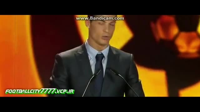دریافت جایزه بهترین بازیکن لالیگا به کریس رونالدو
