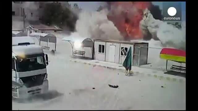 ورود نیروهای داعش به کوبانی