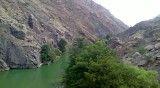 دریاچه ی طبیعی چینی لر شهر آب بر