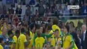 جشن قهرمانی برزیل در جام کنفدراسیون ها