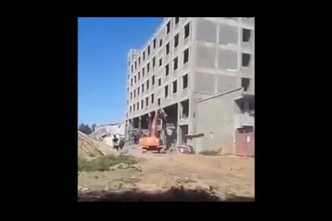 ساختمانی بتنی در چین ظرف 15 ثانیه فروریخت!!!!!!!!!!!!!!