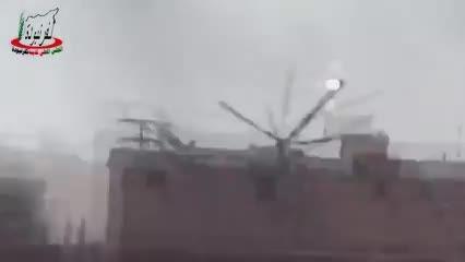 حمله وسیع هلیکوپترهای Mi24 روسی به مواضع داعش