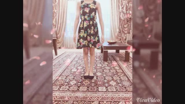 لباس من برای مسابقه زیباترین لباس
