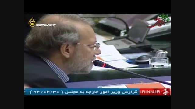 ادعای عجیب دکتر ظریف