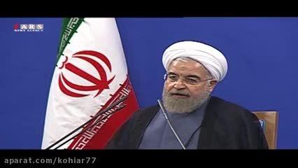 توضیحات دکتر روحانی درباره لغو تحریم ها