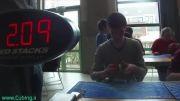 رکورد جهانی مکعب روبیک 5.55