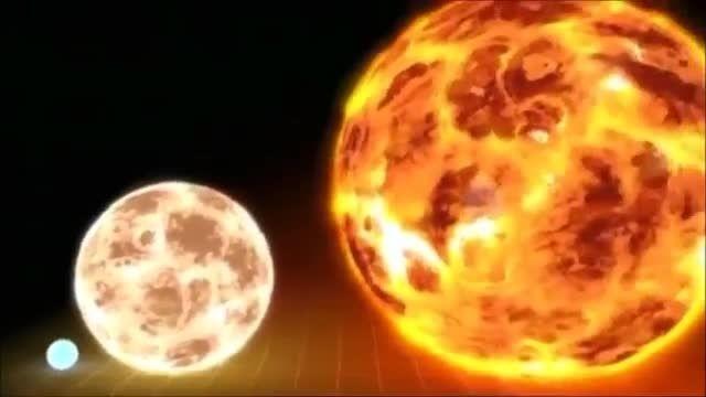 مقایسه ی زمین و خورشید در برابر بزرگترین ستاره دنیا!