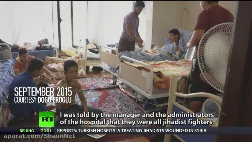 افشاگری خبرنگاران ترکیه فیلم و عکس مداوای زخمی های داعش