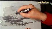 نقاشی فیل - سه بعدی