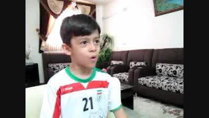 گزارش فوتبال ایران و آرژانتین-امید 6 ساله