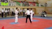 امید ابراهیمی شین دن کای کاراته