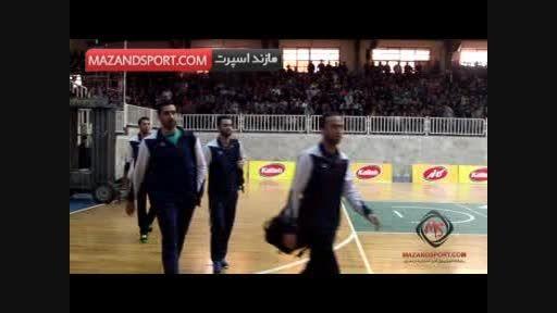 حاشیه دیدار کاله آمل با  پیکان تهران