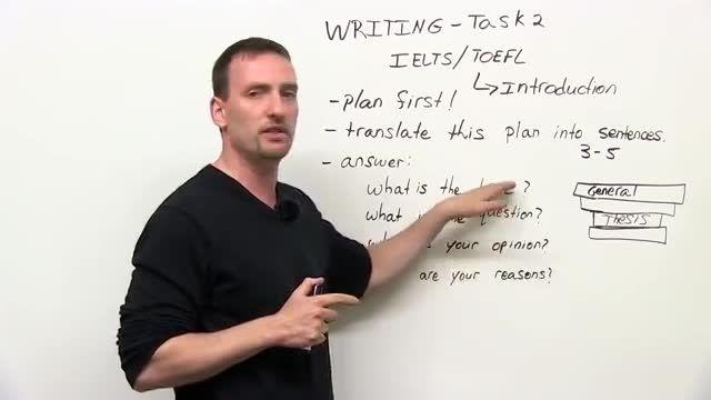 آزمون آیلتس - تسک 2 آزمون نوشتاری - مقدمه Writing Ielts