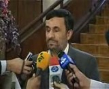 احمدی نژاد و سکوت