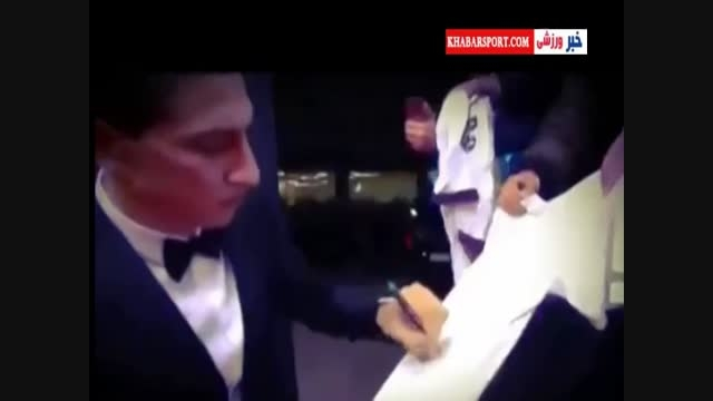 امضا نکردن پیراهن رئال توسط دی ماریا