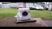 منفجر کردن ماشین لباسشویی 2 (اخر خنده) (تقدیمی)