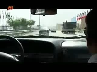 تعقیب و گریز پلیس در بزرگراه تهران